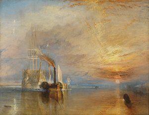Искусство Везде: Джозеф Мэллорд Уильям Тернер, Боевое Temeraire, 1839