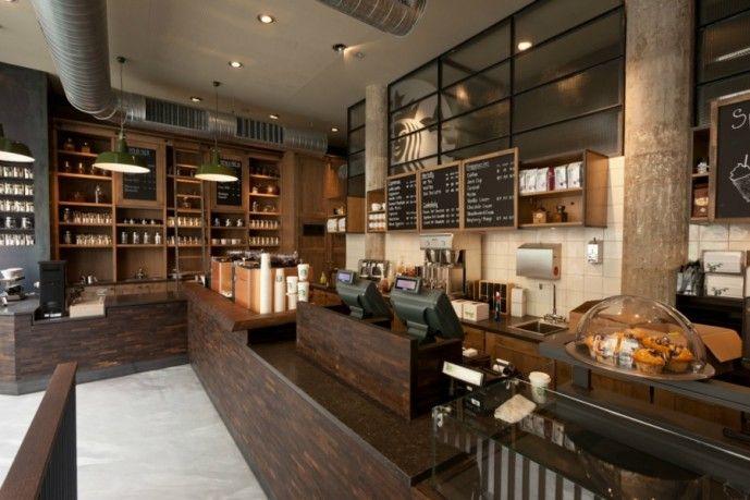starbucks coffee shop interior - Google Search