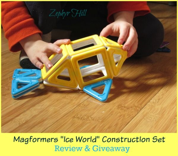 Magformers Ice World Construction Set Review & Giveaway | Zephyr Hill