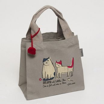 Julia Gash Big Bob, Little Jim Go Into The Woods Mini Tote