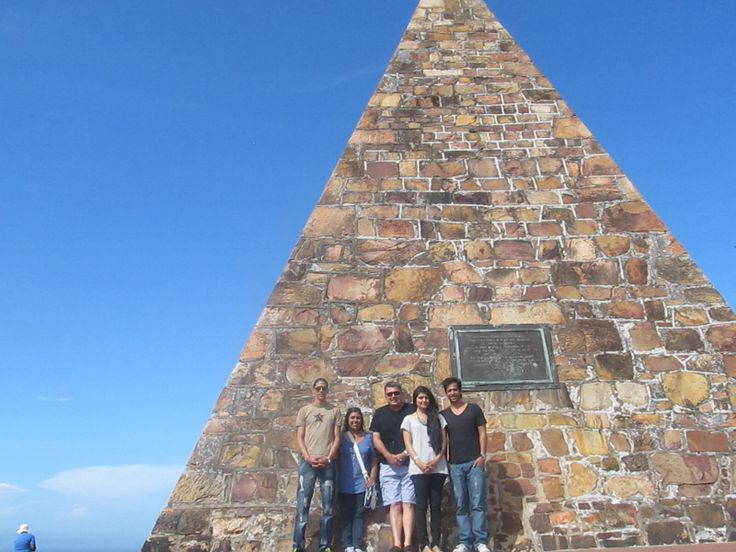 The pyramid at the Donkin Reserve in Port Elizabeth, South Africa