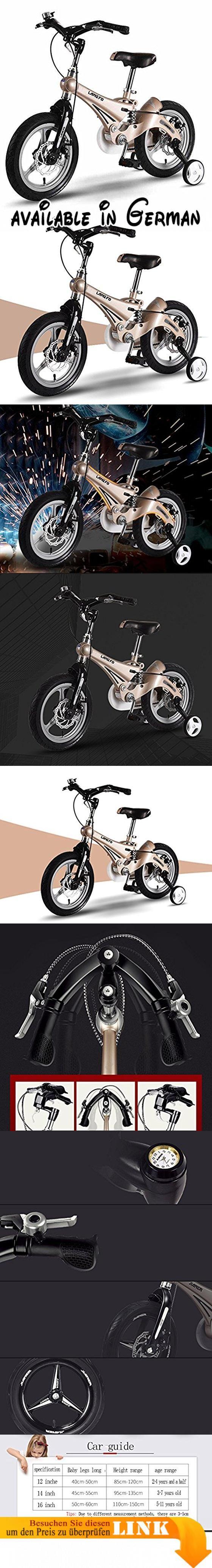 Kinderrad 12 14 16 Zoll Baby Stroller 3 6 Jahre alt Mountainbike Fahrrad