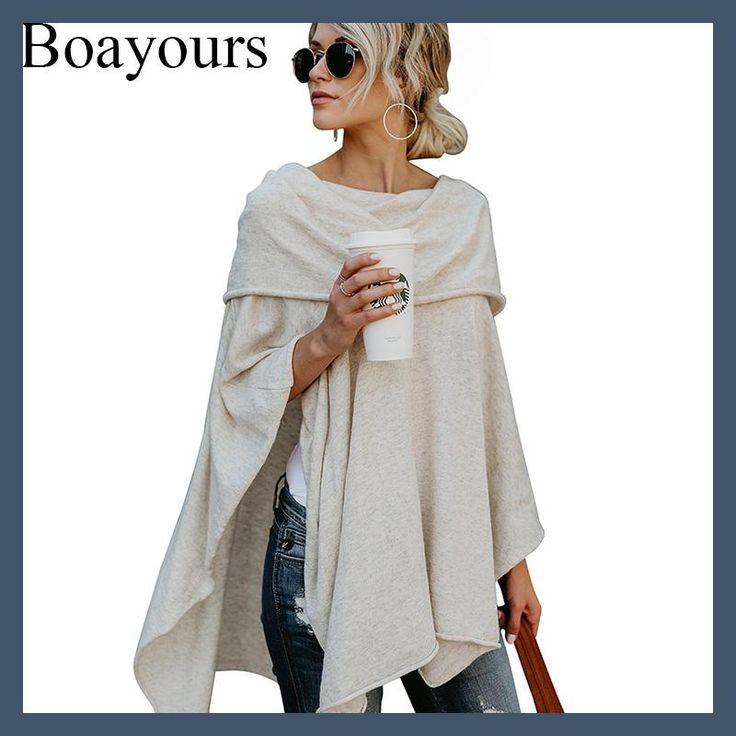 Boayours Fashion New Cashmere Off The Shoulder Tops For Women T shirt Autumn Loose Irregular Hem Crop Top Sexy T-shirt Tee Shirt