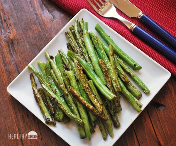 Sautéed Green Beans I like to parboil them a few minutes, then drain, before I sautee them.