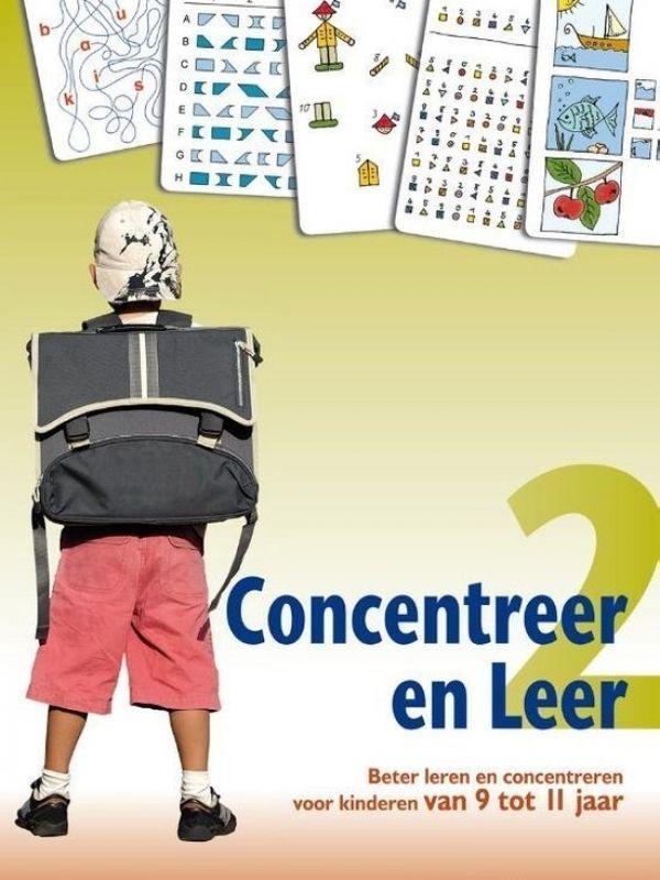 Concentreren kun je leren! Door iedere dag 10 minuten het concentratievermogen te oefenen leren kinderen zich beter te concentreren. De serie Concentreer en Leer staat vol spelletjes voor kinderen vanaf 6 jaar. www.blijfwijs.nl/concentreer-en-leer