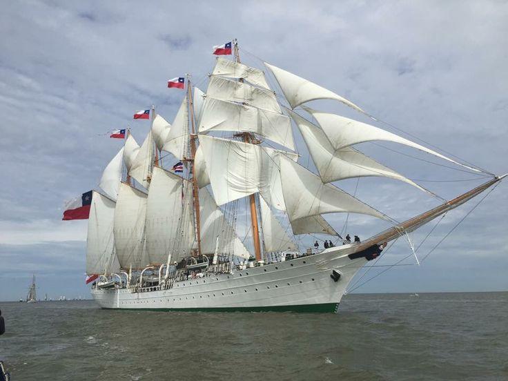 Esmeralda en Bremerhaven 2015