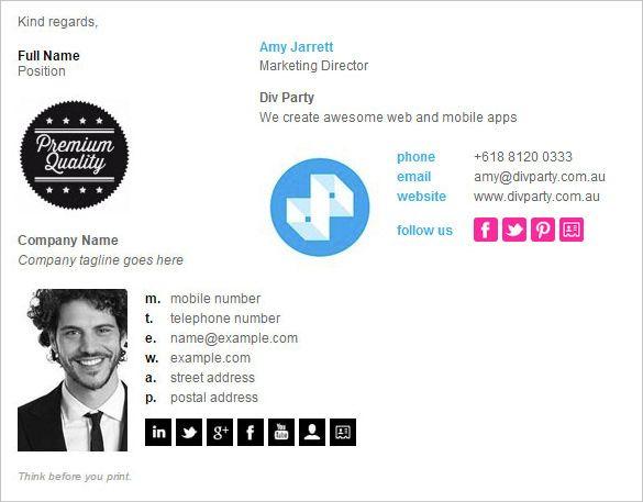 Die 25+ besten Signature Generator Ideen auf Pinterest | E-Mail ...