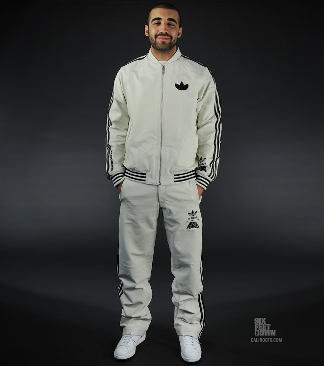 Addidas Special Edition Storm Trooper Suit. Baller.