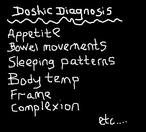 Ayurveda looks at a variety of factors before determining your optimal balance of doshas. www.ayurveda-retreat.co.uk