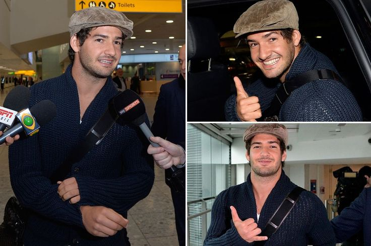#Pato #AlexandrePato #Brasil Alexandre Pato calls Chelsea move 'a dream come true' after arriving in London to seal loan deal - Mirror Online