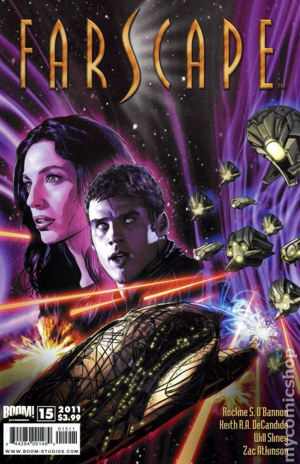 Farscape (2009 Boom Studios Ongoing) 15 Comic book covers tv