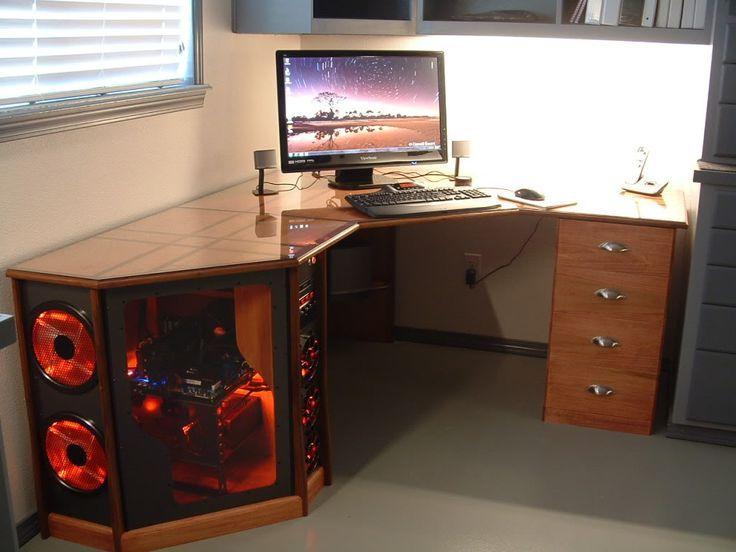 gaming desks gaming desks diy computer desk pc desk pc gaming setup. Black Bedroom Furniture Sets. Home Design Ideas
