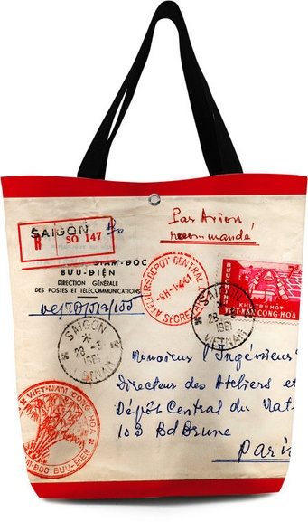 grand sac stamps from bonjour mon coussin