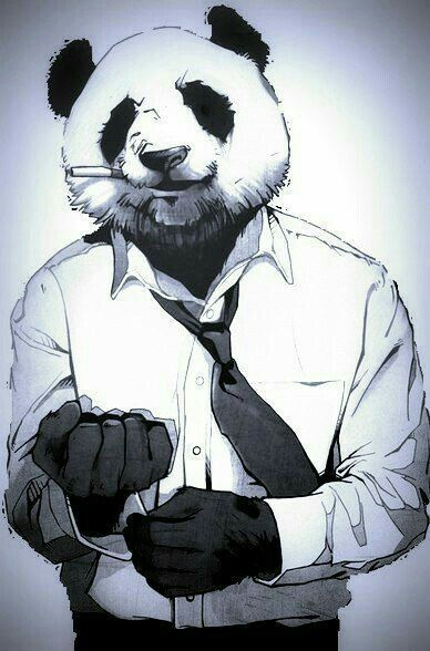 Крутые панды рисунки, днем рождения лет