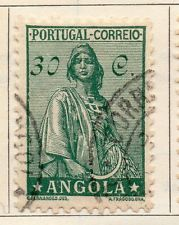 Angola 1932 Early Issue Fine Used 30c. 105753