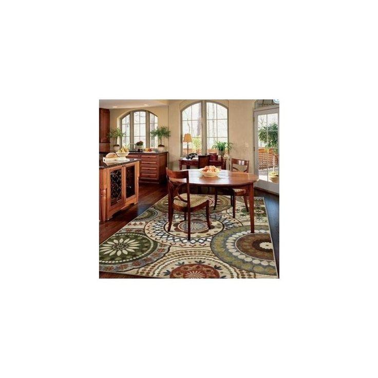 AmazonSmile: Mohawk Home Suzani Blue Nylon Rug, Kaleidoscope: Kitchen & Dining 5x7, $100