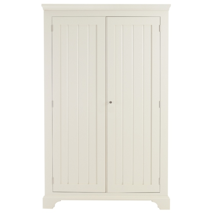 Tongue and groove style wardrobe doors