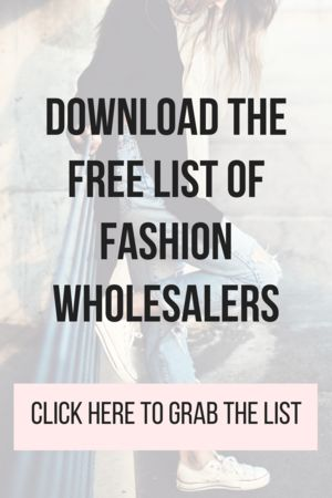 List of online boutique fashion wholesalers. Ready to start an online boutique or shop? Download this list of some wholesale clothing distributors to help get your business started. Launch your online store with help of our lists and boutique courses- visit  BrittanyOlson.com