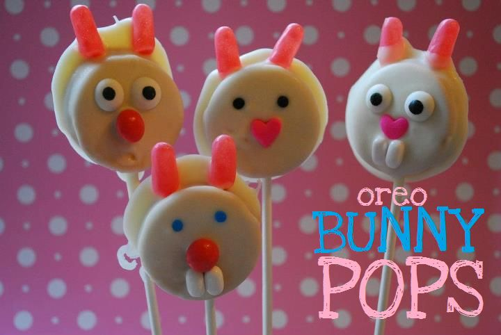Oreo Bunny Pops! from The Domestic Rebel.