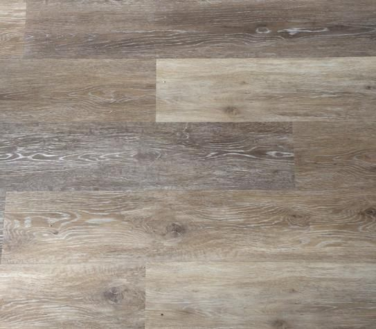 TrafficMASTER Allure 6 In X 36 Brushed Oak Taupe Resilient Vinyl