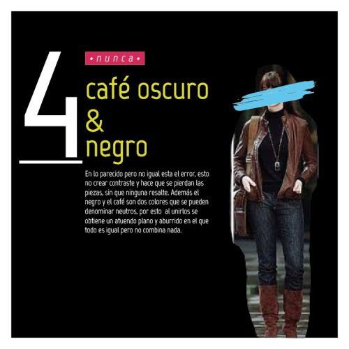 #fashionrules #never #fashion #black #brown