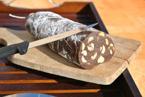 Saucisson trompe l'oeil en chocolat : Toutes les recettes et conseils de cuisine