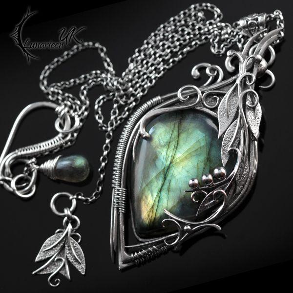 ATRDHYLL - silver and labradorite by LUNARIEEN on DeviantArt