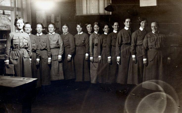Lotta Svärd, Finnish women's voluntary defense organisation.