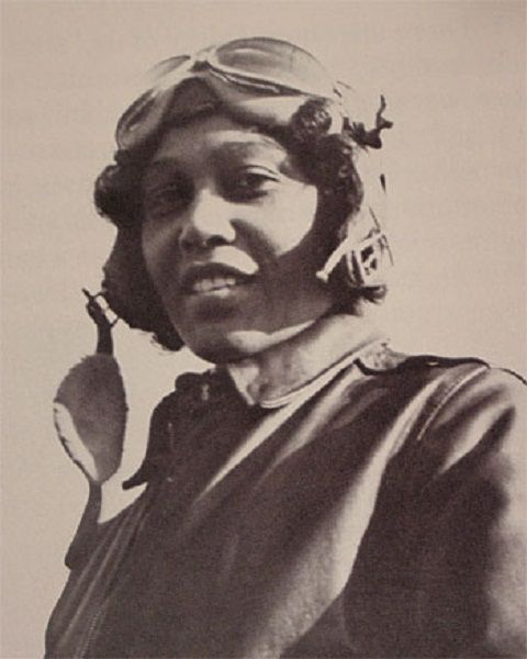 Janet Harmon Bragg was one of the first female african american aviators. (c. 1930)""