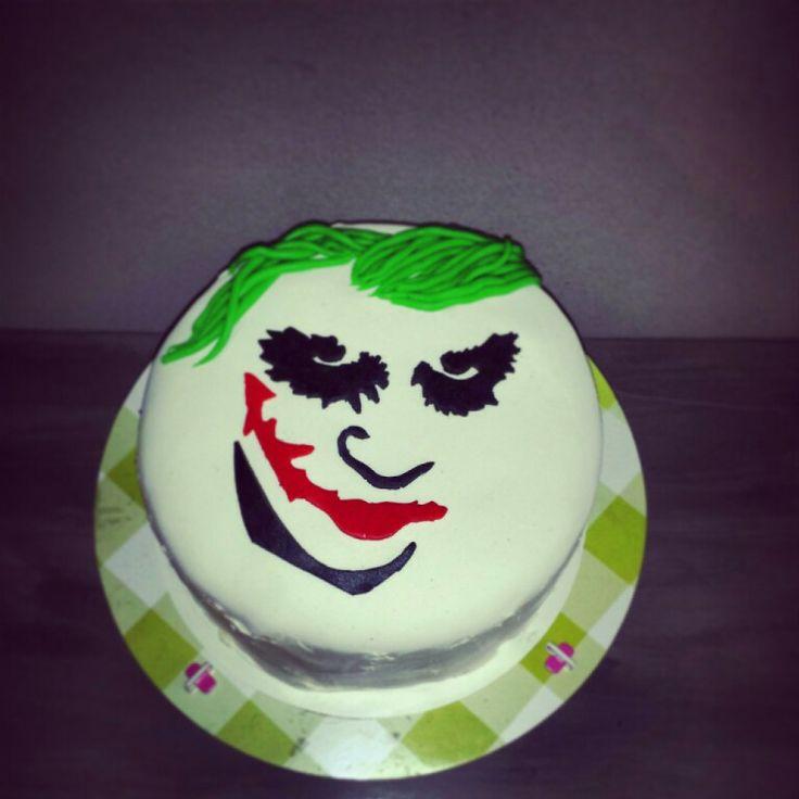The Joker taart