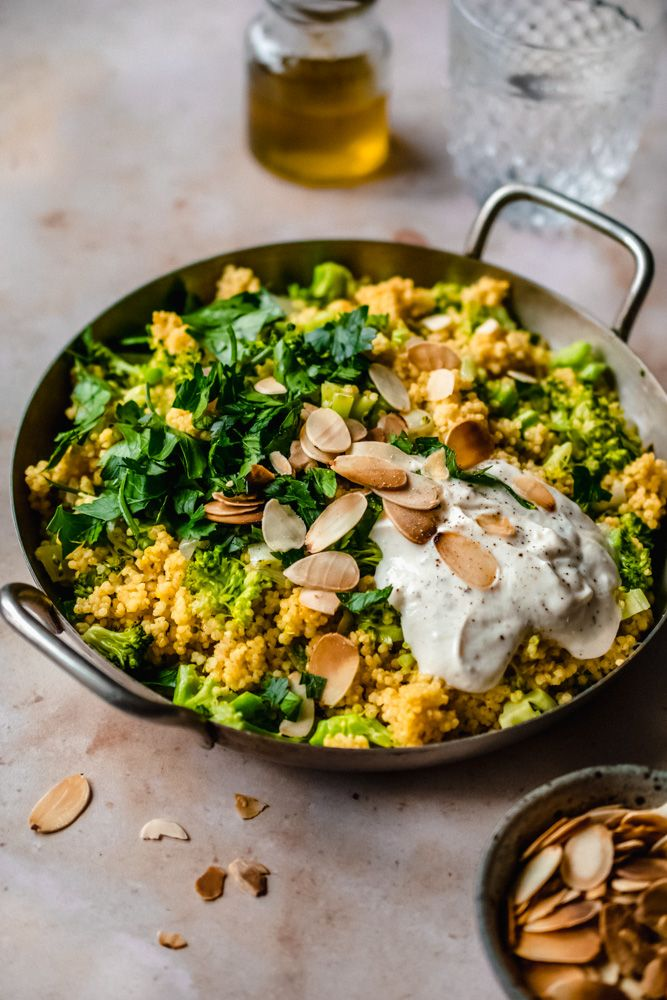 Vegan Glutenfreier Hirse Brokkoli Salat Foodreich Vegan Blog Rezept In 2020 Brokkoli Salate Rezepte Vegane Rezepte Brokkoli