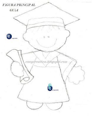 ronycreativa: Graduados de fomi o goma eva y Arreglos para graduación