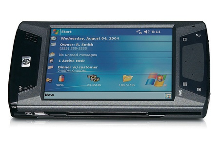 HP iPAQ hx4700    Manufacturer - Hewlett-Packard  Series - HX  Years of production - 2004  CPU -Intel PXA270 624 MHz  Rom - 128 Mb  Ram - 64 Mb  Screen - 640x480 |64K colors  Weighs - 186.7g  Operating System -Windows Mobile 2003 Second Edition