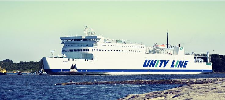 #unityline #ferry #ferries #wolin #sea #swinoujscie #ystad #poland #sweden #färjor