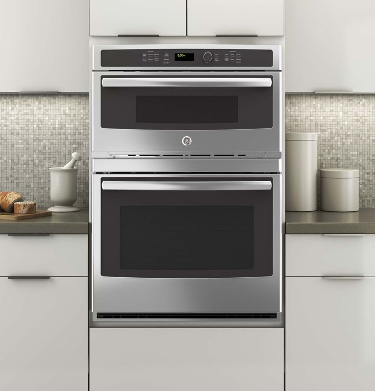In Stainless Steel By GE Appliances In Cedarhurst, NY   GE® Built In  Combination Microwave/Thermal Wall Oven.