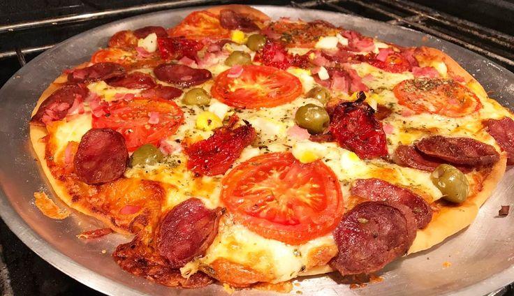 Pizza da Ana Maria Braga | Massas > Massa de Pizza | Mais Você - Receitas Gshow