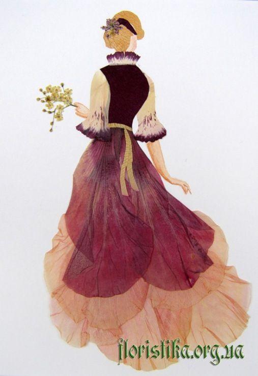 Pressed Petals Art