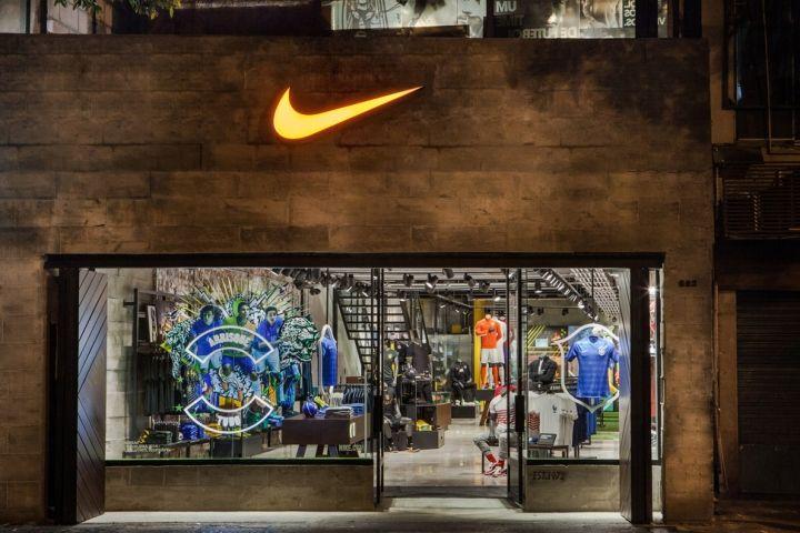 Nike football-only store, Rio de Janeiro – Brazil