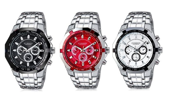 Orologio da uomo Sports Men. Vari colori disponibili DA € 19,98