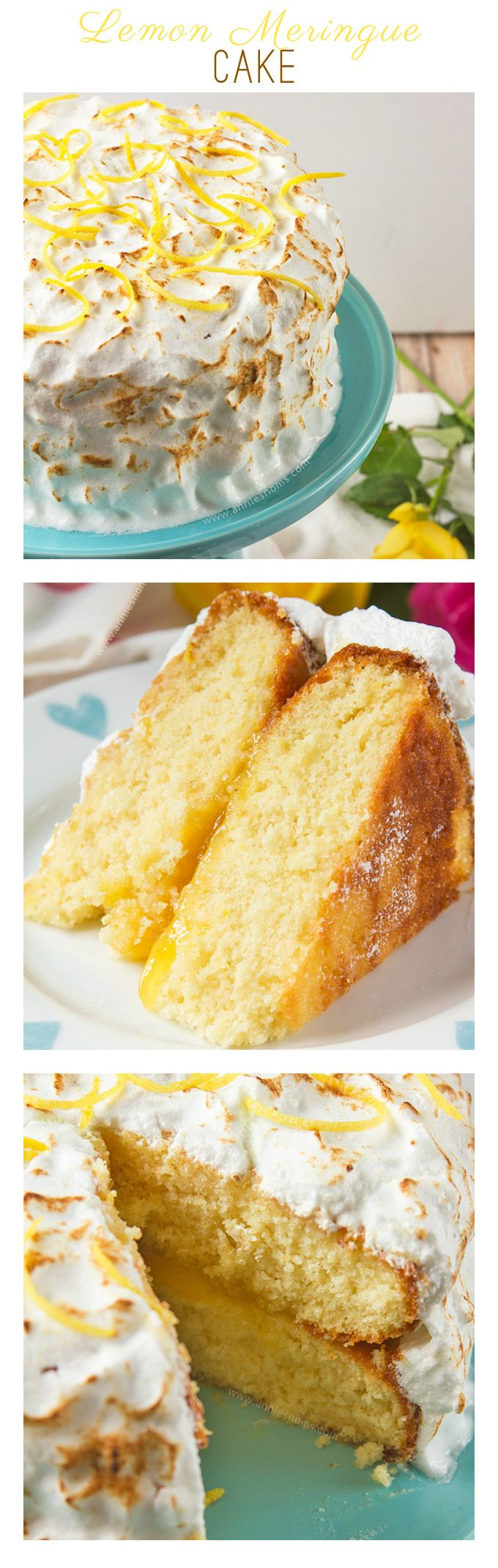 Lemon Meringue Cake | Annie's Noms