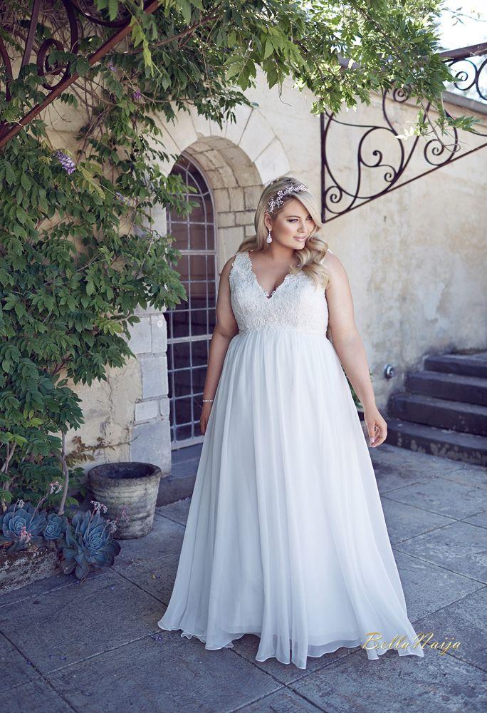 Les 25 meilleures id es de la cat gorie robe de mari e - Robe d hotesse grande taille ...