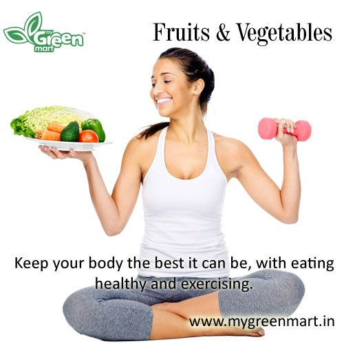 Keep your body the best it can be, with eating healthy and exercising.