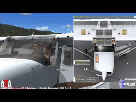 A2A Simulations - C172 Trainer With Accu-Sim for FSX | Aviation