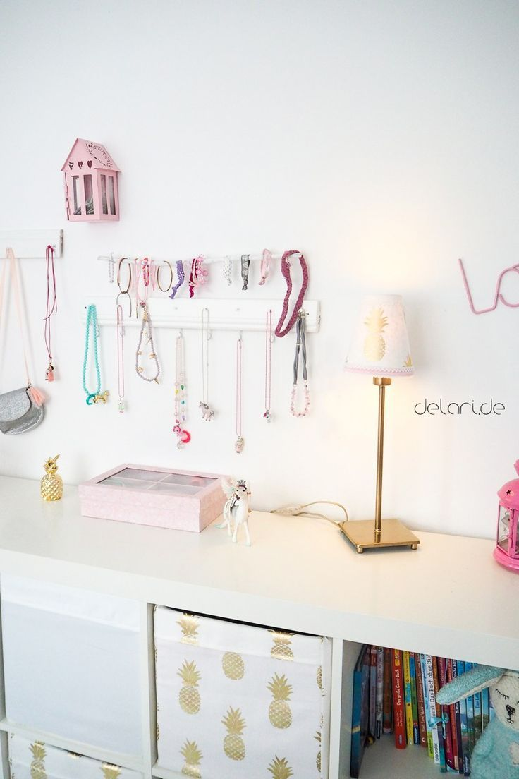 Nursery Ideas Girl DIY Jewelry Jewelery Storage