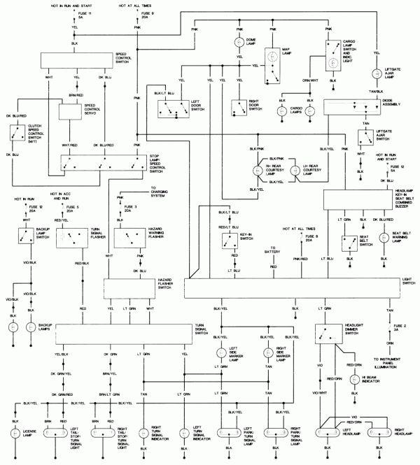 1986 Dodge Truck Wiring Diagram And Repair Guides 16 1986