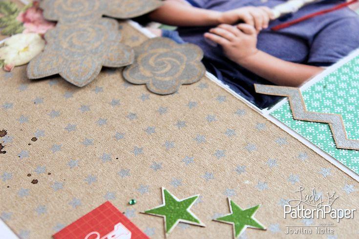 Krafty Christmas Layouts - Little Star