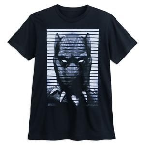 Marvel Black Panther Face T-Shirt for Adults   Marvel ShopBlack Panther Face T-Shirt for Adults - You won't want to let this Black Panther tee out of your sight! This comfy Marvel t-shirt hones in on the Warrior King of Wakanda, ready to pounce into battle.
