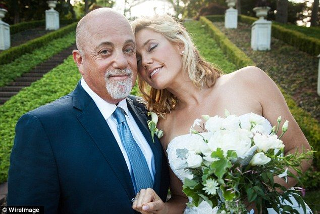 Hitched! Billy Joel and longtime girlfriend Alexis Roderick married on July 4, 2015 during a surprise ceremony on his Long Island estate. She is pregnant with a girl, due in December 2015.