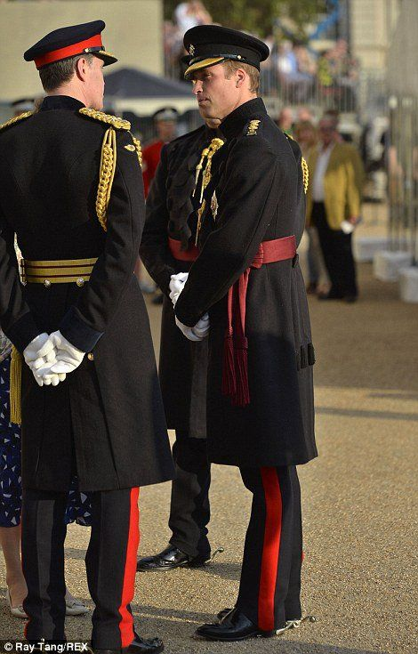 Prince William - the Household Division Beating Retreat ,le 12 Juin 2014