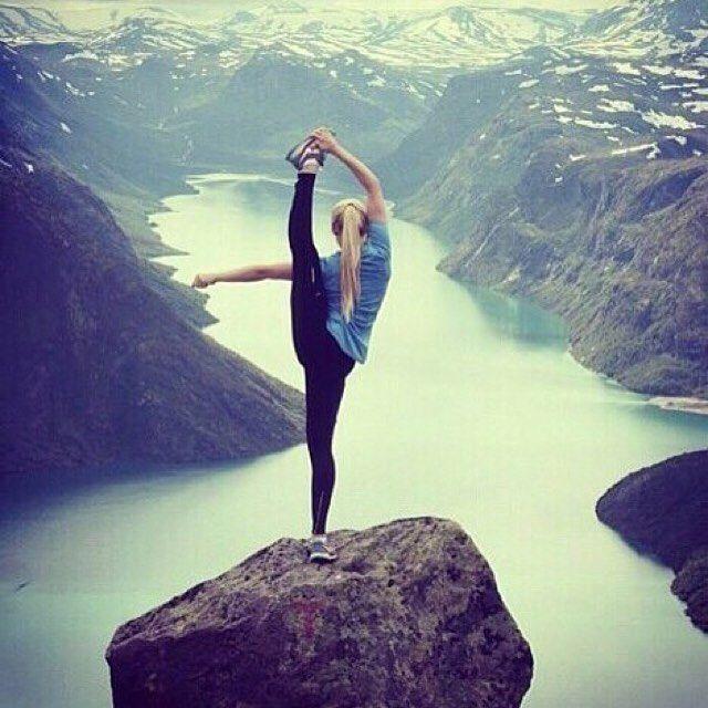 Yoga inspiration repost via  @jfillmoore  #norway #fitness #nature #wellness #inspiration #extremeyoga #hiking #camping #endurance #StopDropYoga #LetsDoNothing #LessIsMore #LiveYourBestLife #Toronto #Yoga #Meditation #Wellness #PeaceOfMind #Summer16